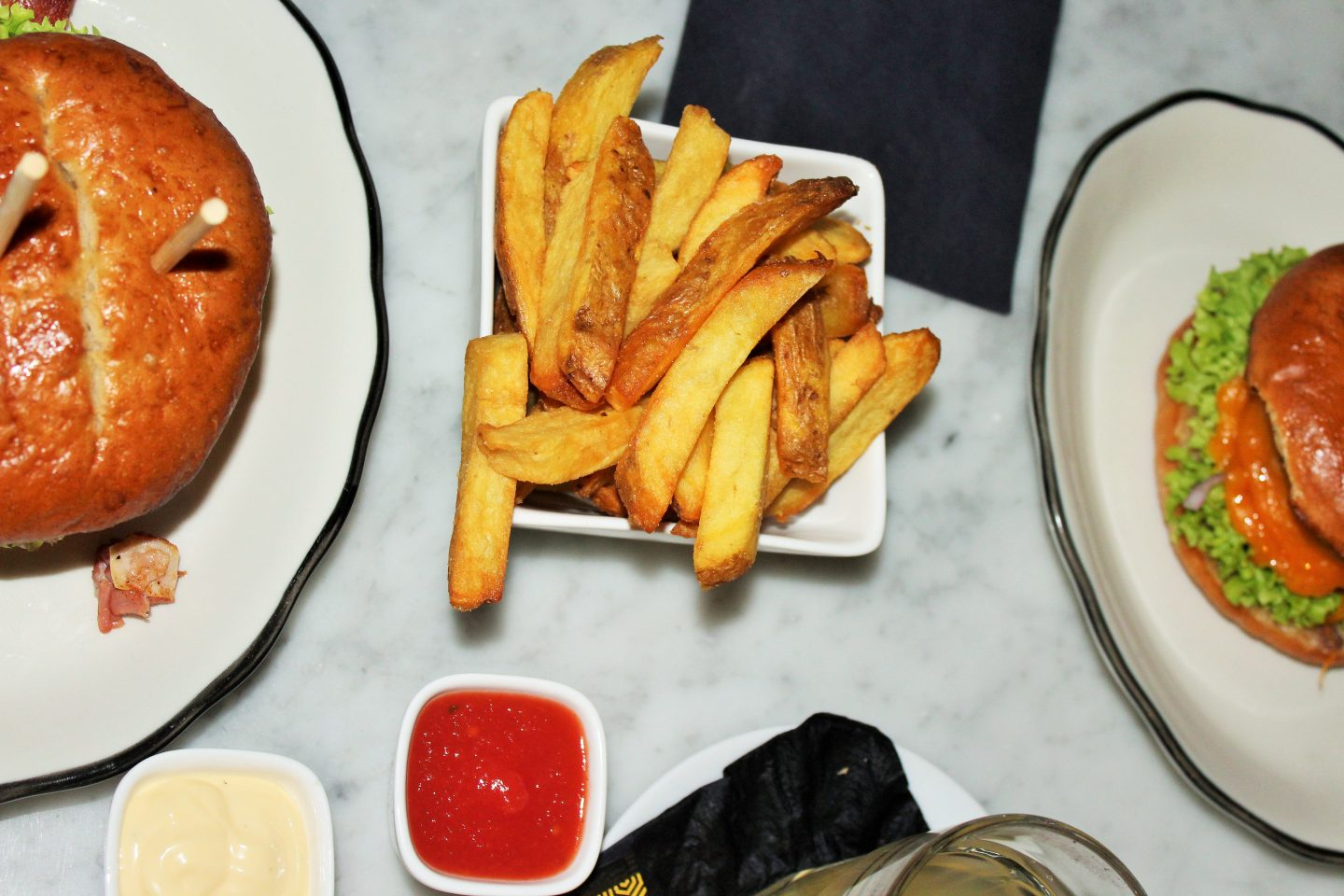 Mom Hotspot: H Burger in Amsterdam