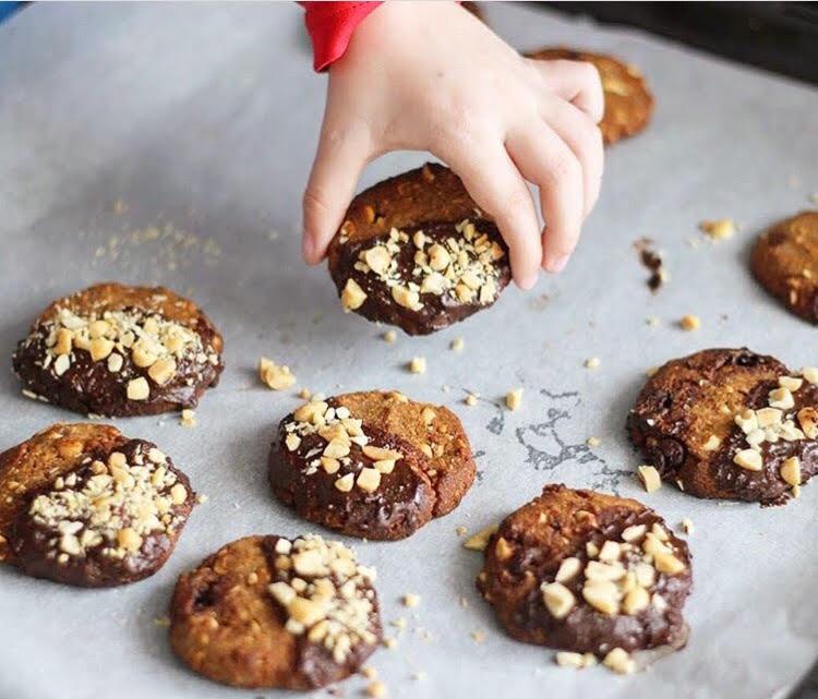 Recept: Peanutbutter-choco koekjes