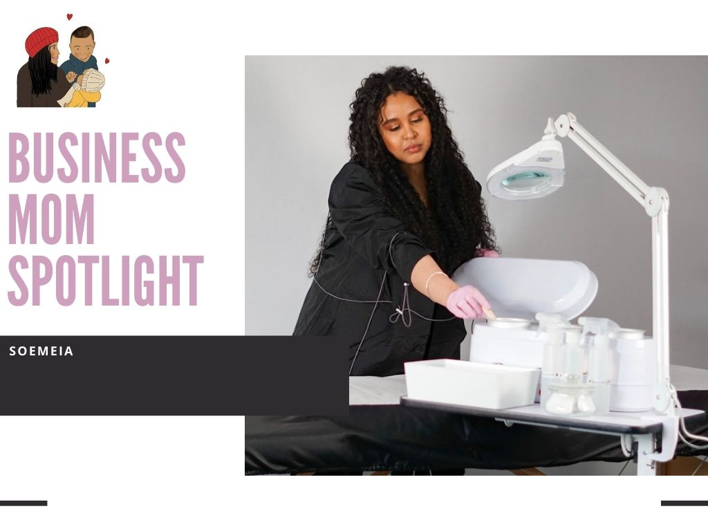 Business mom spotlight | Salon D'arlau on the road