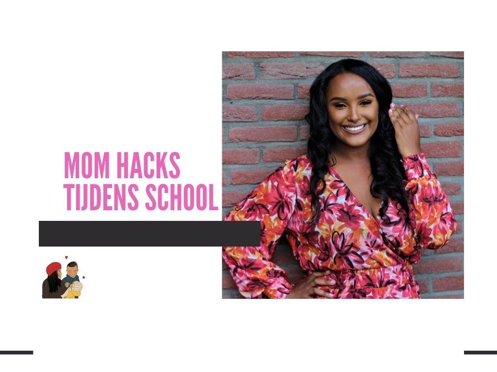 Moms hacks tijdens school
