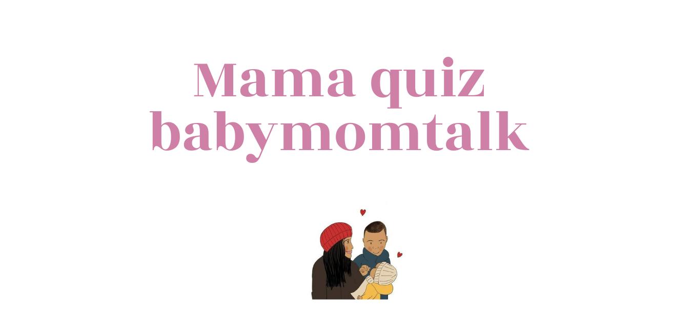 Een quiz voor alle (aanstaande) moeders! Weet jij het allemaal?